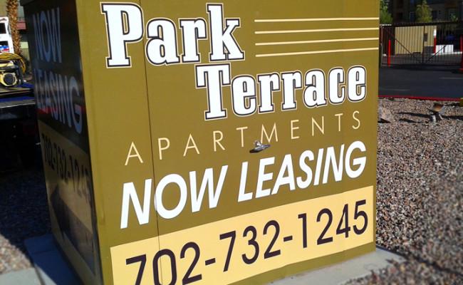 Park Terrace Electrical Box Wra