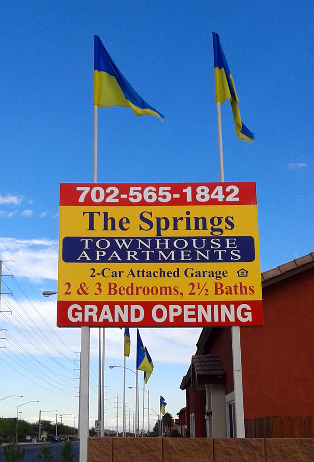 The Springs Onsite Sign